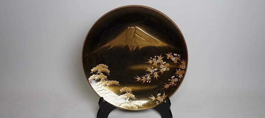 飾皿 富岳